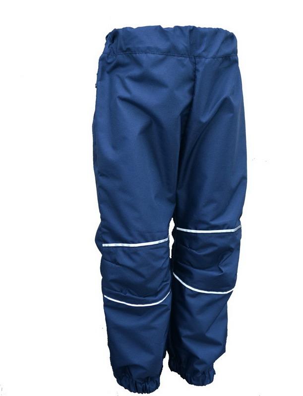 804f67e8082 Dětské šusťákové kalhoty  tm. modré