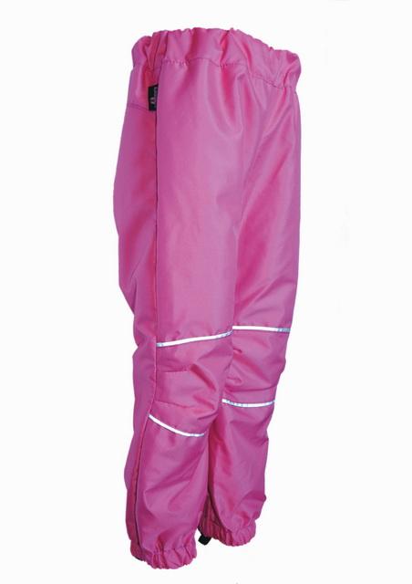 b53700418a7 Dětské šusťákové kalhoty   malina