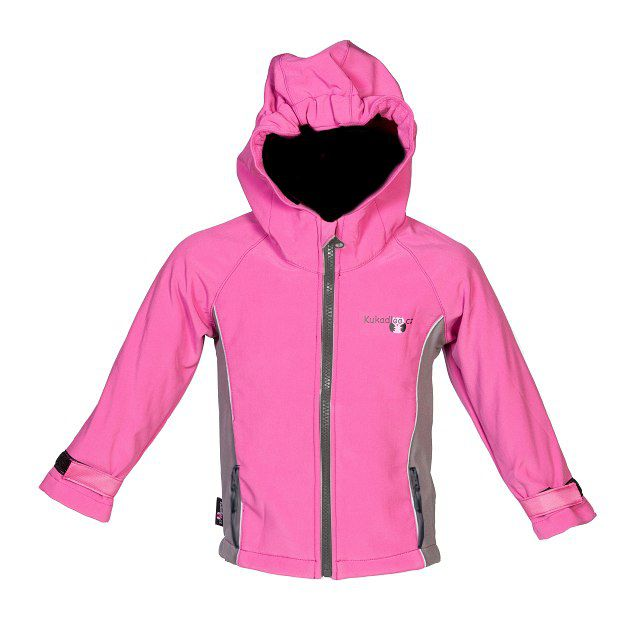 a7c896d96a2 Softshellová bunda   růžová s šedými boky - doprodej empty